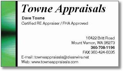 Dave Town Biz Card