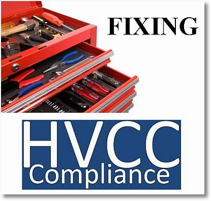 fixing hvcc