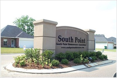 South Point Entrance Sign