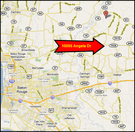 denham springs real estate appraisers map