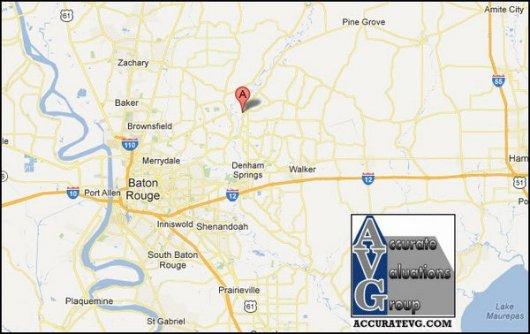 watson louisiana map 70706