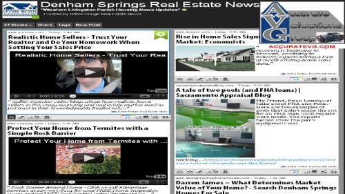 Denham Springs LA Walker LA Western Livingston Parish housing news