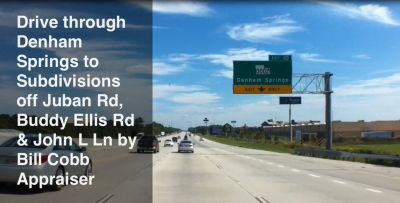 Denham Springs I-12 Juban Rd Driving Tour To Homes Subdivisions
