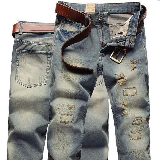 vintage finishing jeans