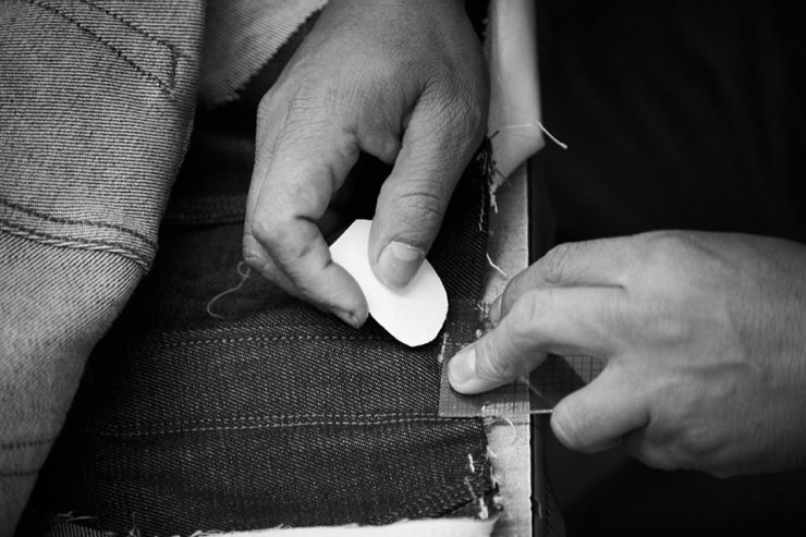 Hand Made Good American Denim