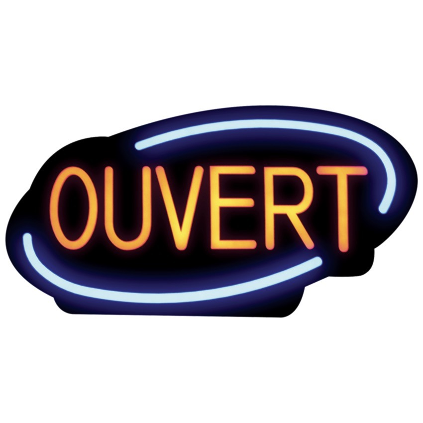 ENSEIGNE DEL OUVERT RSOVEREIGN FRA 05093 37 RSB 1340F
