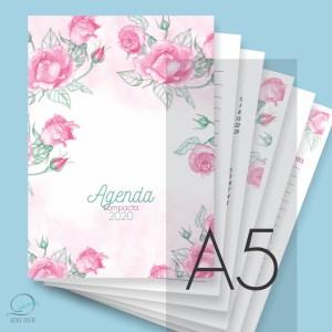 Mini agenda A5 2020 para impressão