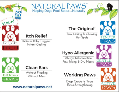 Natural Paws Product Flier