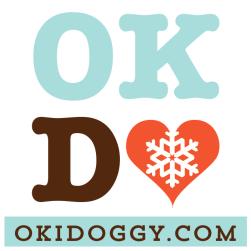 OKI Doggy Xmas Logo