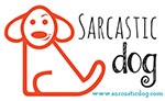 The Sarcastic Dog Logo