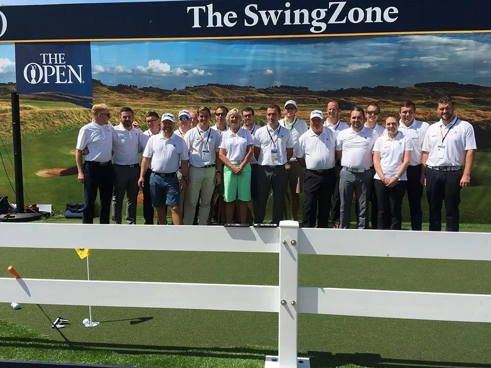 The Open 2017 Swing Zone