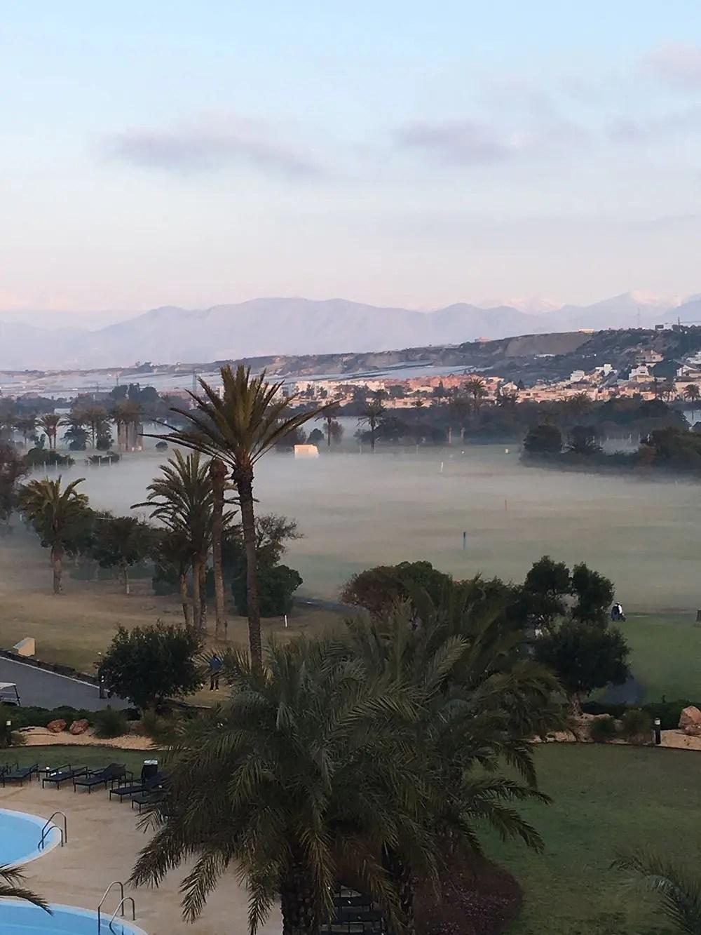 Golf course at Almerimar