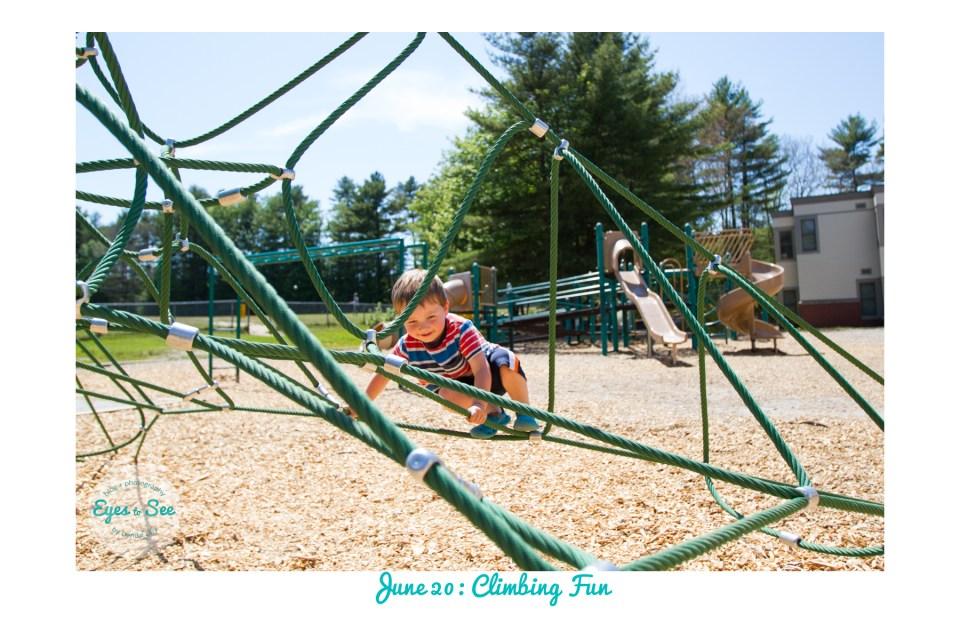 June 20 Climbing Fun