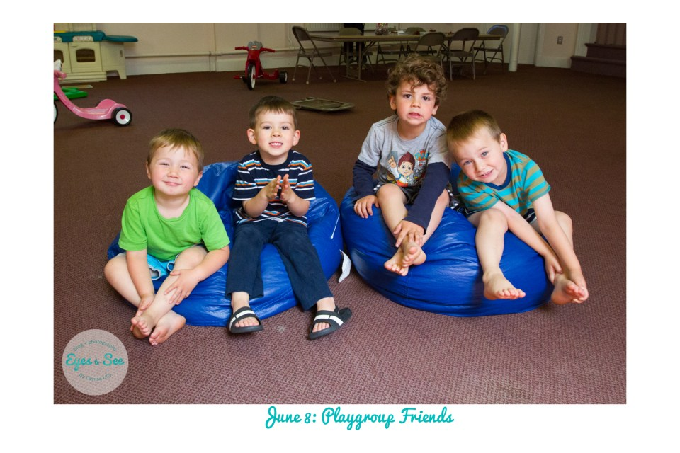 June 8 Playgroup Friends