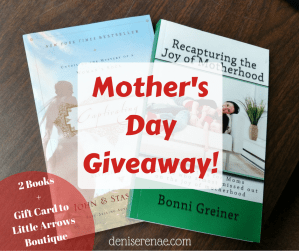 2nd Annual MOTHER'S DAY GIVEAWAY!