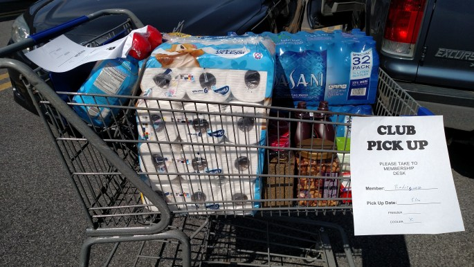 """I tried grocery shopping multiple times with all my childrenand each trip was so close to a fail. The next week rolls around and I think, """"Oh, I can do this!"""""""