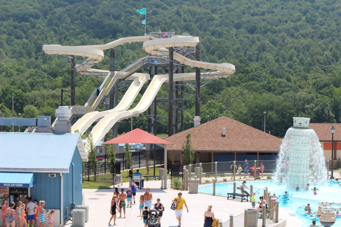 Delgrosso's Amusement Park is a perfect attraction for a family with young children to embark on.