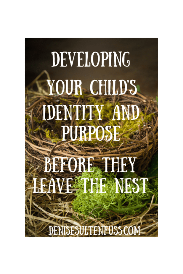 Developing your child's identity and purpose