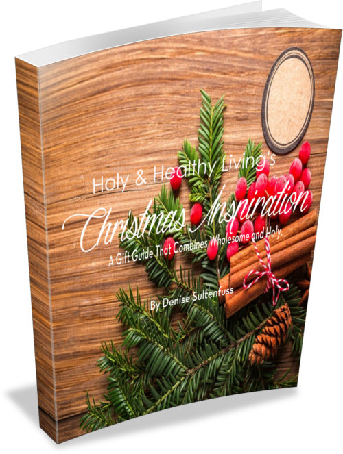 Christmas ebook, holy and healthy