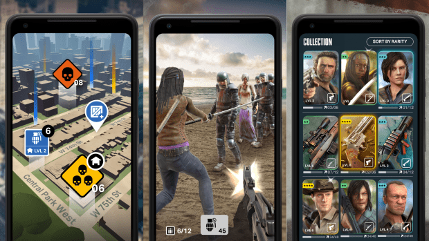 Gioco The Walking Dead our world - mobile