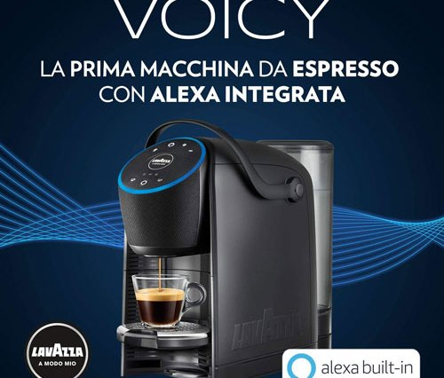 Lavazza e Amazon Alexa