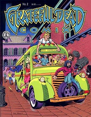 Grateful Dead in comics