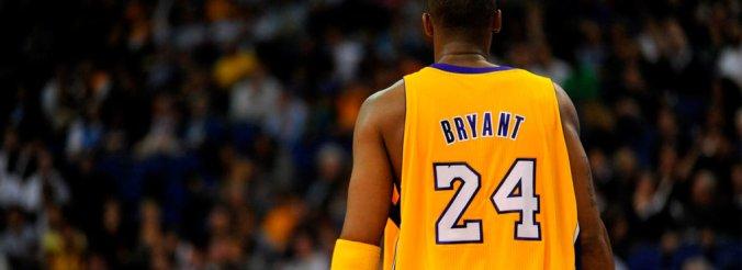 LA Laker Kobe Bryant in uniform