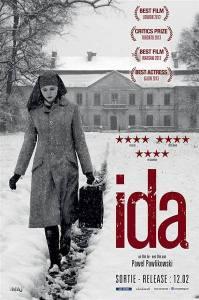 "Film poster for ""Ida,"" courtesy of Wikimedia."
