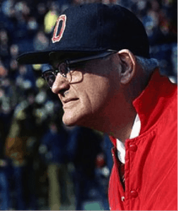 Woody Hayes '35 (wikimedia commons)