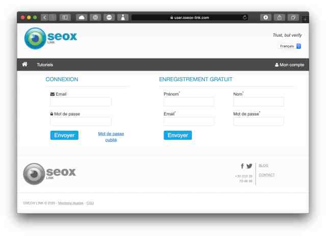 TEST : Oseox-Link 1