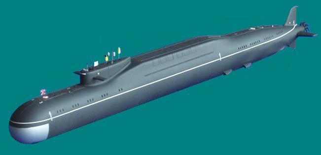 Borei class nuclear submarine