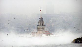 İstanbul ve Çanakkale Boğazı Gemi Trafiğine Kapatıldı