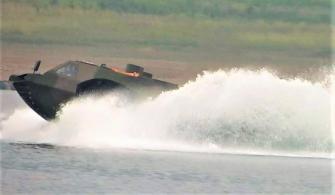 Dünyanın En Hızlı Amfibisi