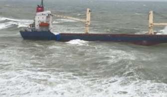İstanbul Açıklarında Gemi Karaya Oturdu