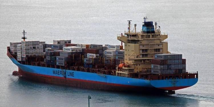 Maersk Gemisinde Yangın