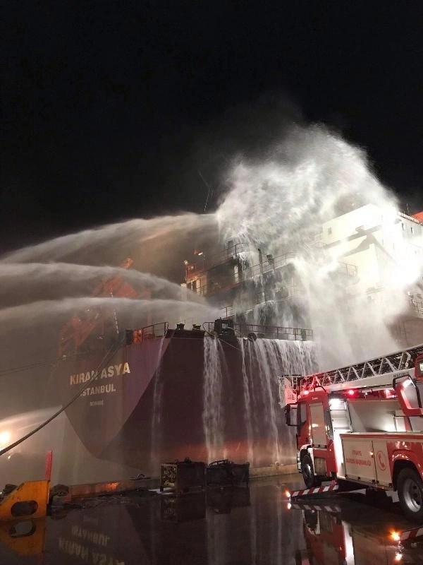 İskenderun Limanında Gemi Yangını, KIRAN Holding, KIRAN ASYA