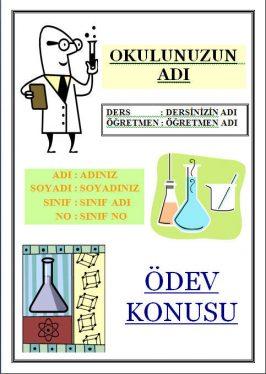 kimya ödev kapakları