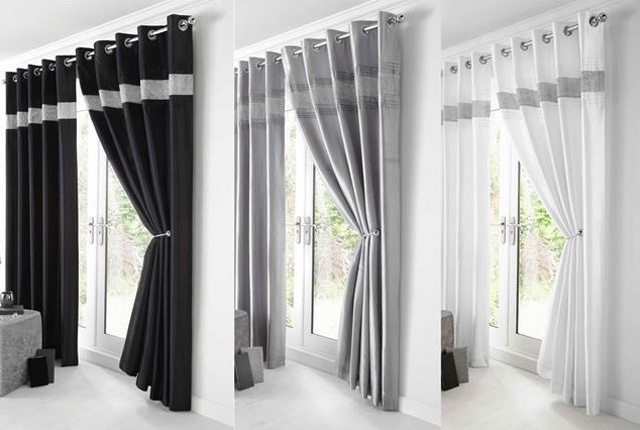 Ready Made Curtains London SouthWestNorthEast Fitting Service - Ready made curtains white