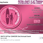 SUP it UP for CANCER 2018 banner