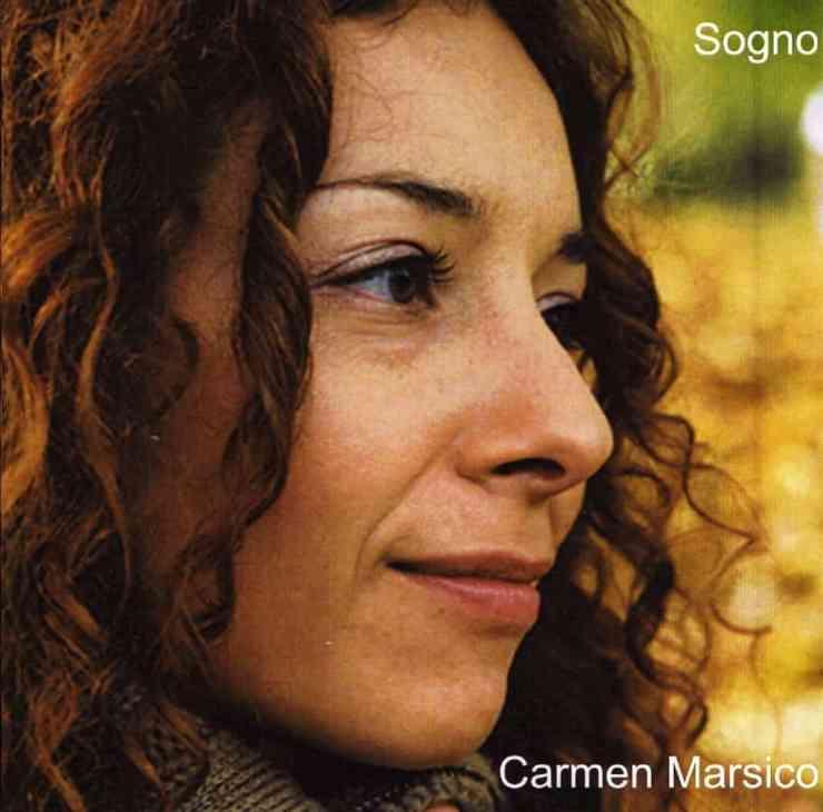 CD cover for Carmen Marsico Sogno.