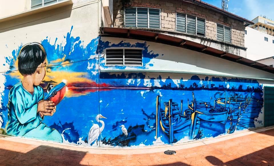 Lokasi Mural Muar