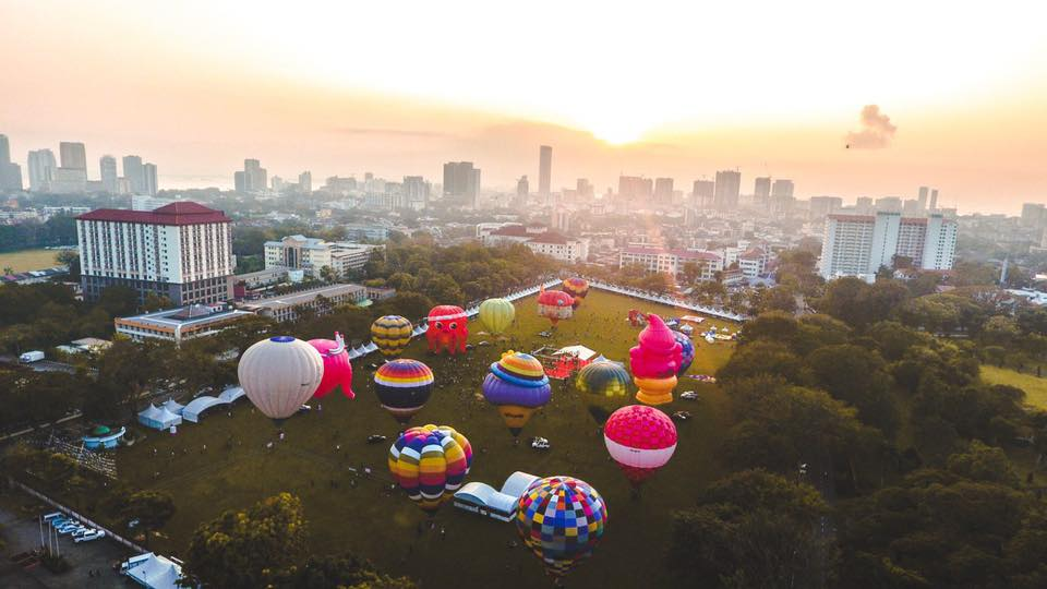 Ticket Price & Activities Penang Hot Air Balloon 2020