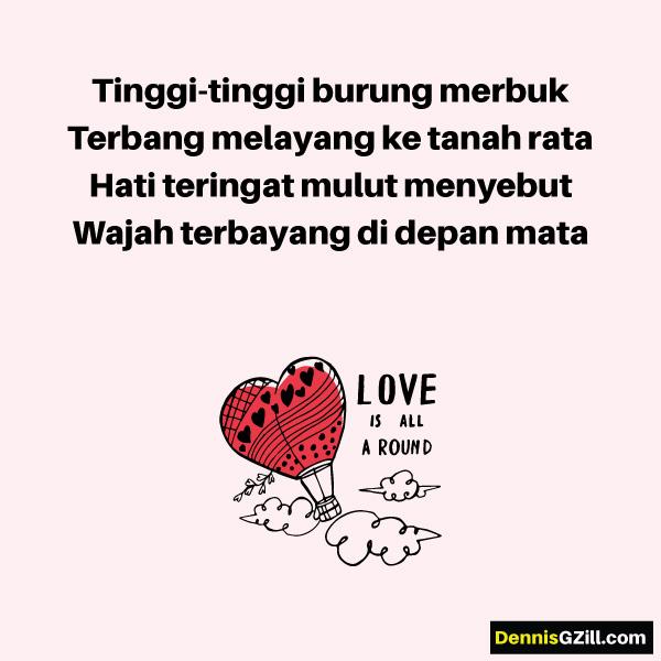 Malaysia: Pantun Cinta - Pendek, Lucu, Lawak, Romantik etc