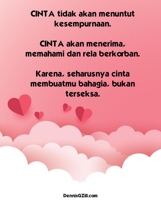 Kata Kata Cinta Romantis Untuk Kekasih - Sweet
