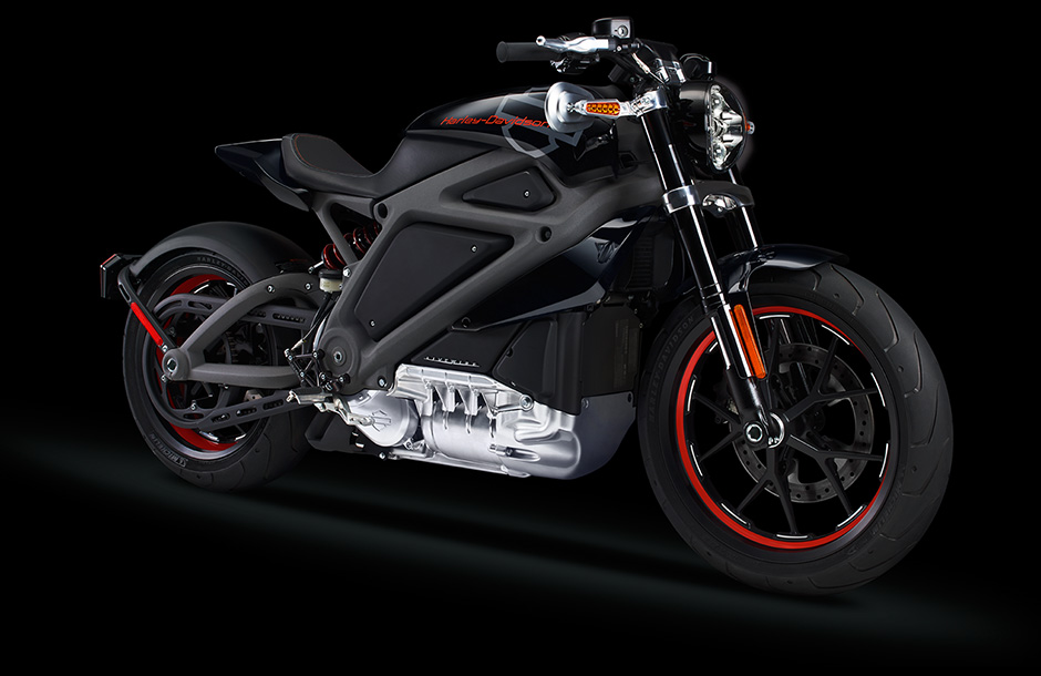 Project LiveWire motorcycle