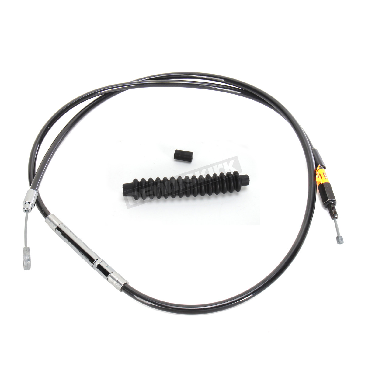 La Choppers Black Vinyl Coated Clutch Cable For Use W 15 In To 17 In Ape Hangers