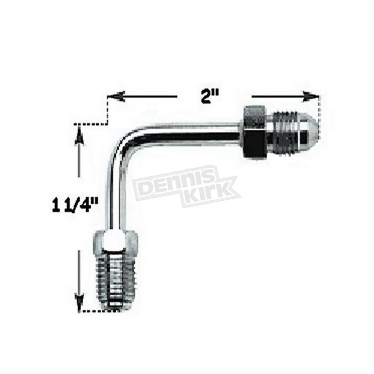 Russell Brake Line Tube 3 8 In 24 Inverted Flare 3 Male