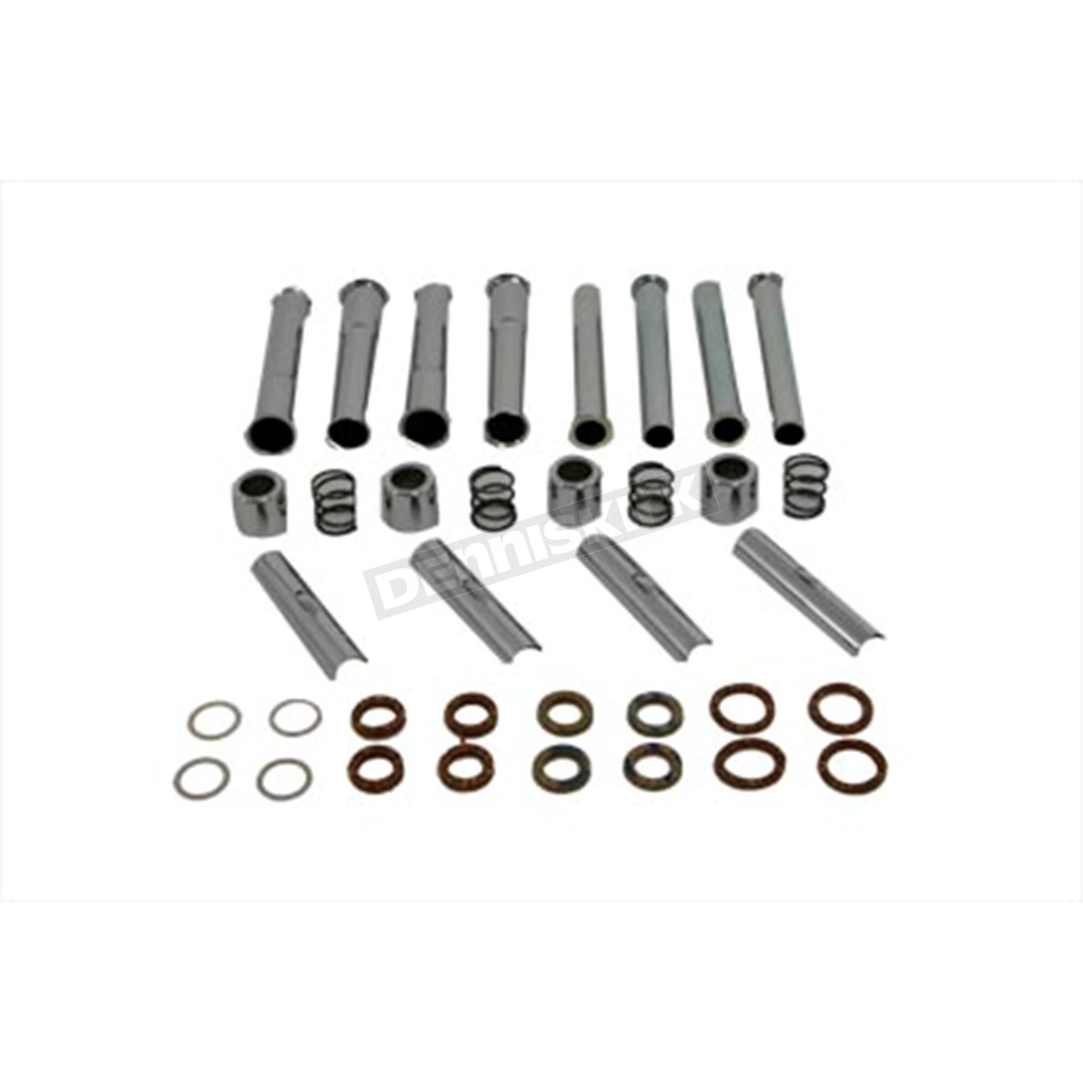 V Twin Manufacturing Stroker Pushrod Cover Kit