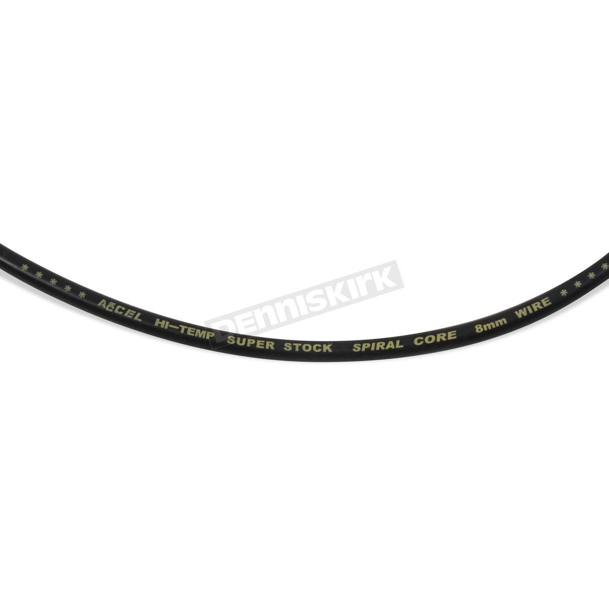 Accel Black Custom Plug Wire Set