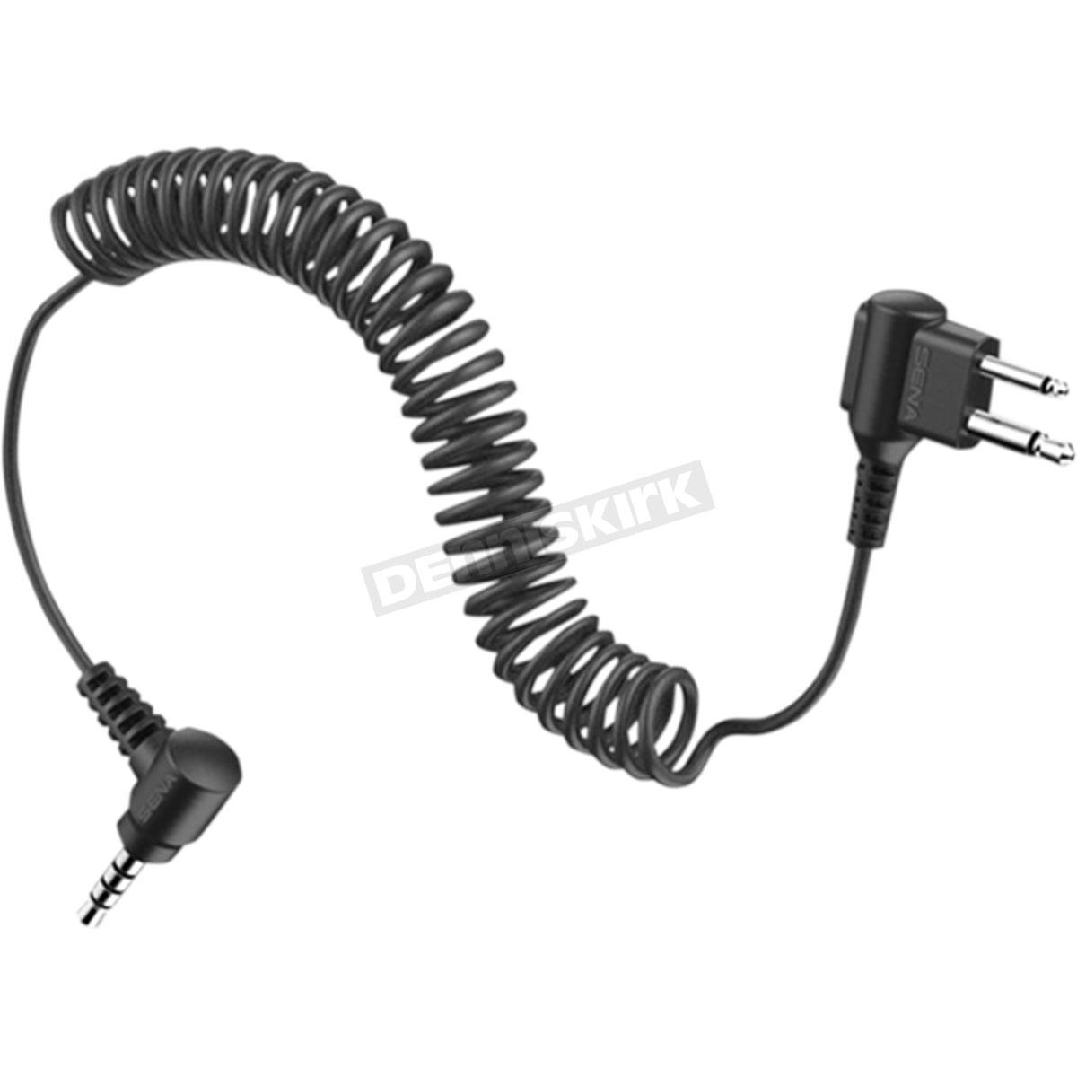 Sena 2 Way Radio Cable For Motorola Twin Pin Connector